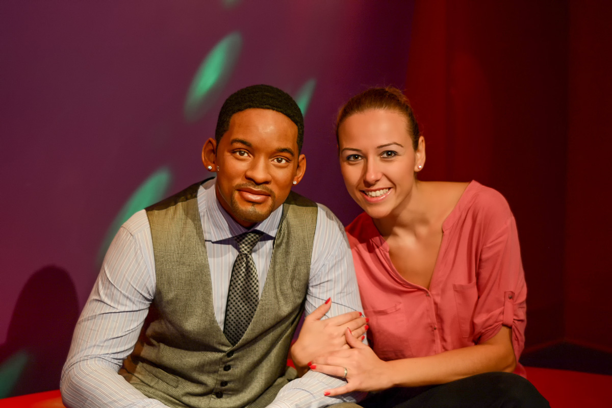 Photos with Will Smith Madame Tussaud Hollywood Los Angeles