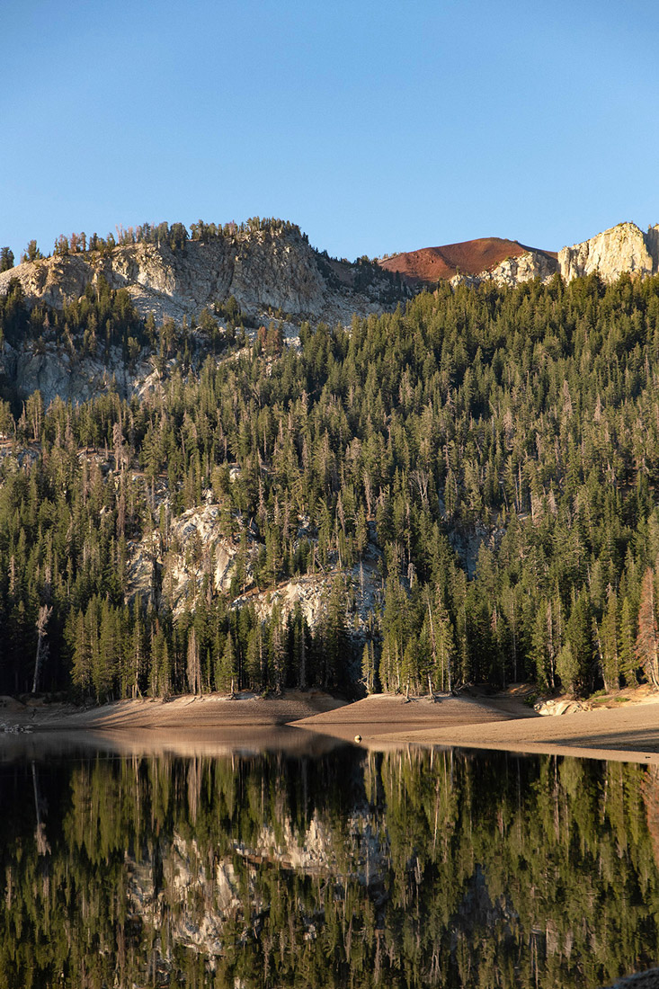 Horseshoe lake Mammoth Lakes