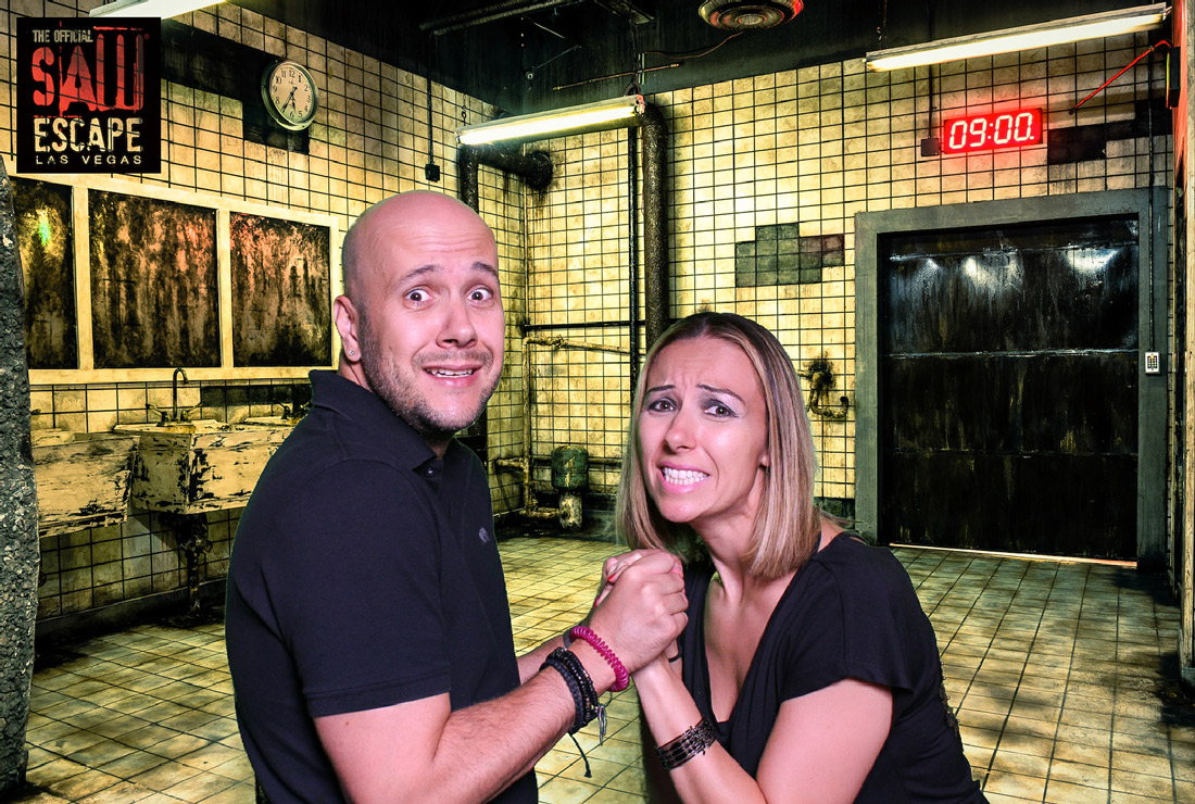 Las Vegas Offical Saw escape room