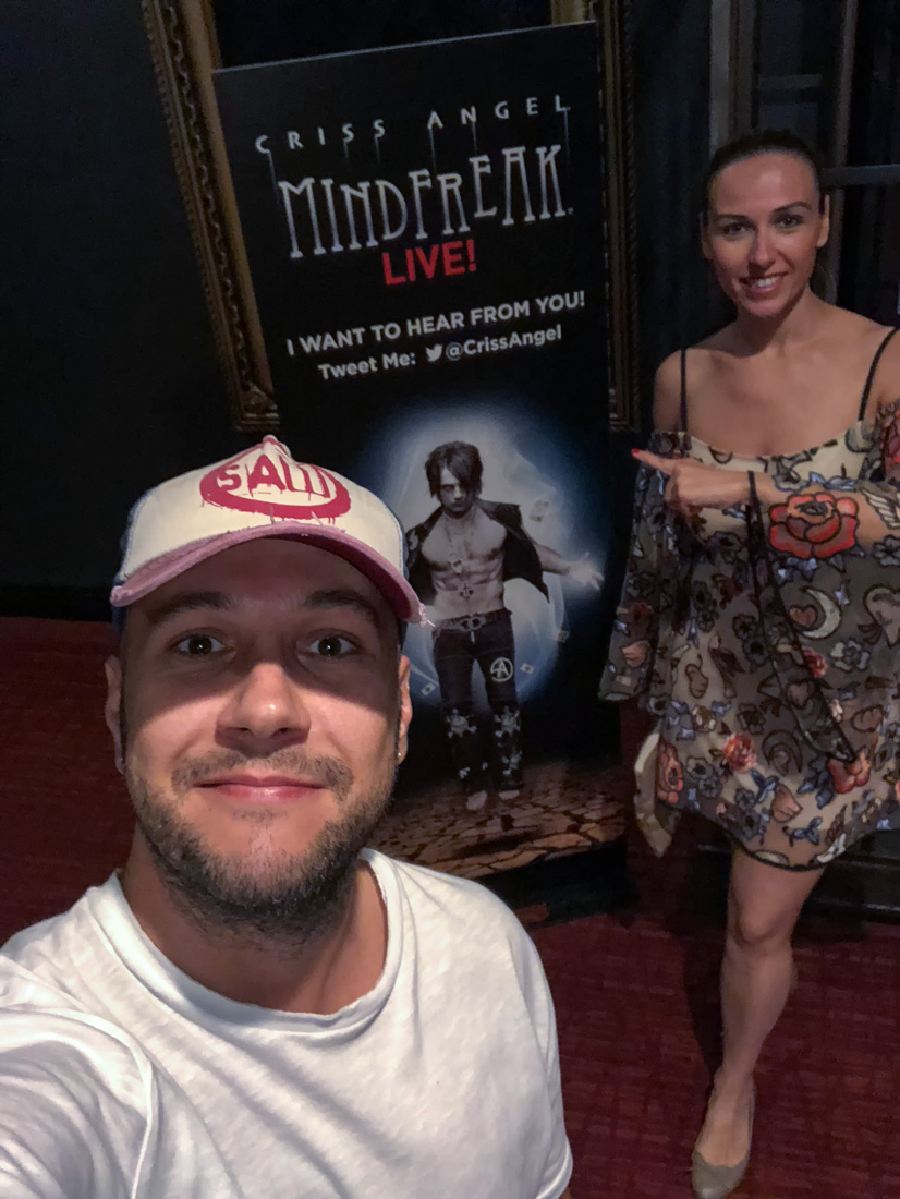 las vegas criss angel mindfreak show