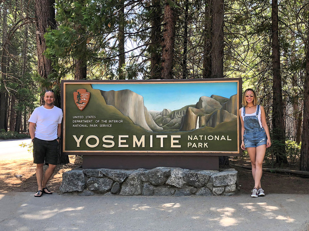 Yosemite Valley sign