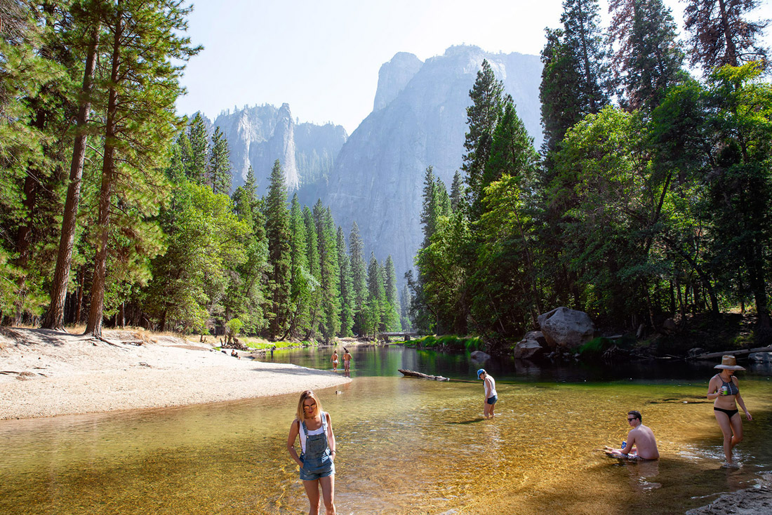Yosemite Valley Merced river
