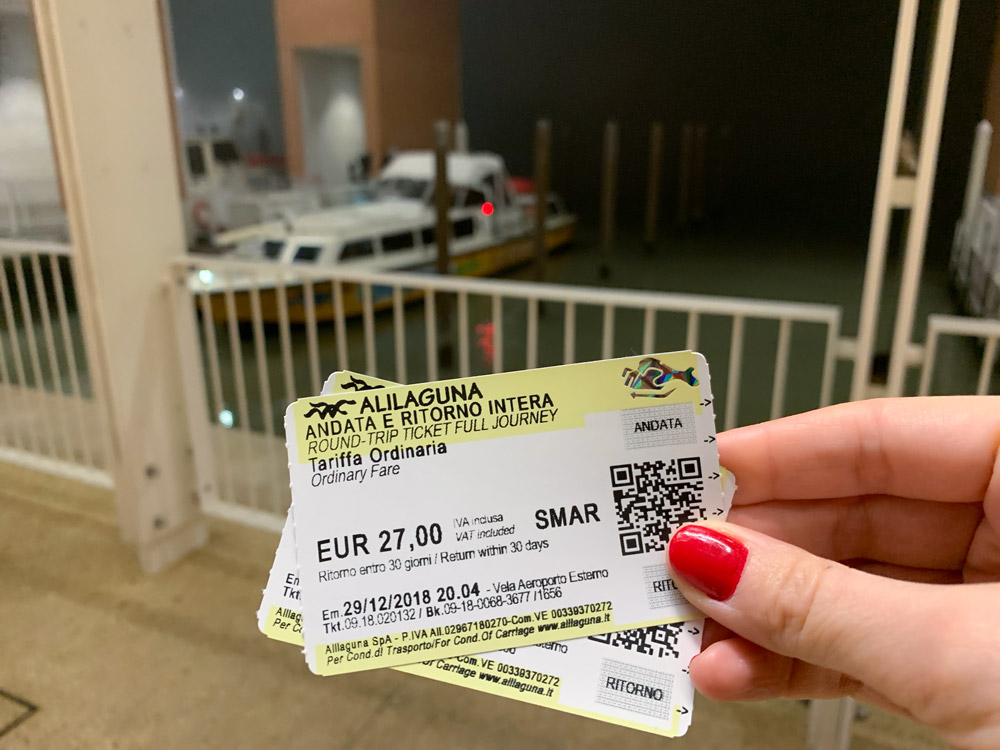 Alilaguna waterbus tickets in Venice