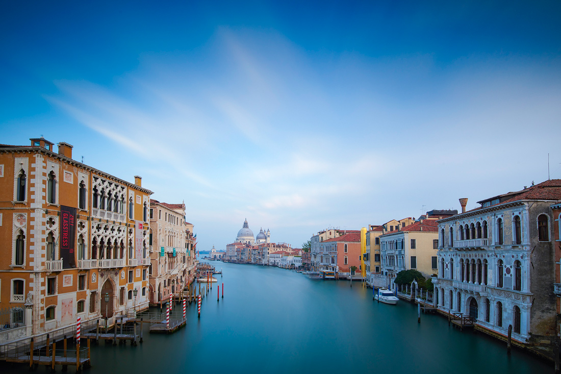 Long Exposure Accademia Bridge in Venice